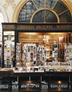 Librairie Jousseaume, passage Vivienne, 2eme arrondissement